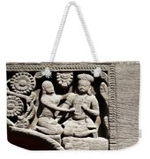 Stone Relief In Patan's Durbar Square Weekender Tote Bag
