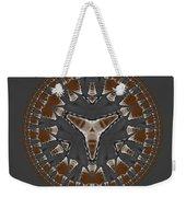 Stone Ridge Mandala Weekender Tote Bag