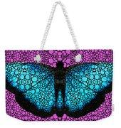 Stone Rock'd Butterfly 2 By Sharon Cummings Weekender Tote Bag