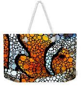 Stone Rock'd Clown Fish By Sharon Cummings Weekender Tote Bag