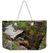 Stone Slid Away Weekender Tote Bag