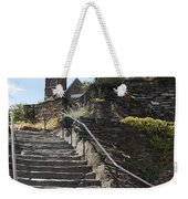 Stone Steps And Saint Peters Church At Harpers Ferry Weekender Tote Bag