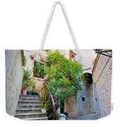 Stone Streets Of Old Trogir Weekender Tote Bag