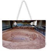 Stone Village-850 Ad In A Protective Shelter On The Mesa Top In Mesa Verde National Park-colorado Weekender Tote Bag