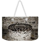 Stone Well At Old Fort Niagara Weekender Tote Bag