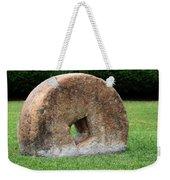 Stone Wheel Weekender Tote Bag