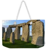 Stonehenge And Shadows Weekender Tote Bag