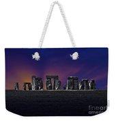 Stonehenge Looking Moody Weekender Tote Bag