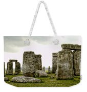 Stonehenge Panorama Weekender Tote Bag