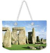 Stonehenge, Wiltshire, England, United Weekender Tote Bag