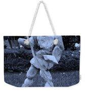 Stoneman In Cyan Weekender Tote Bag