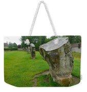 Stones At Avebury Weekender Tote Bag