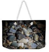 Stones On Beach Weekender Tote Bag