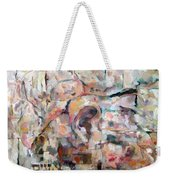 Stones With A Heart   Ears Of The Wall Weekender Tote Bag
