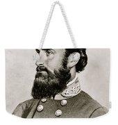 Stonewall Jackson Confederate General Portrait Weekender Tote Bag