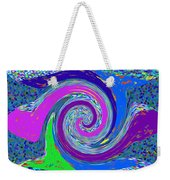 Stool Pie Chart Twirl Tornado Colorful Blue Sparkle Artistic Digital Navinjoshi Artist Created Image Weekender Tote Bag
