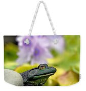 Stop And Smell The Hyacinths Weekender Tote Bag