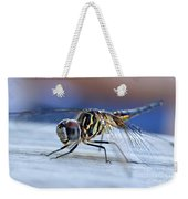 Stop By Tiger Dragon Fly Weekender Tote Bag by Peggy Franz