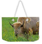 Stopped To Smell The Flowers Weekender Tote Bag