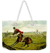 Stopping At Water From Qualified Horses And Unqualified Riders Weekender Tote Bag
