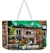 Store - Florist Weekender Tote Bag by Mike Savad