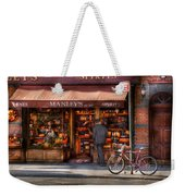 Store - Wine - Ny - Chelsea - Wines And Spirits Est 1934  Weekender Tote Bag by Mike Savad