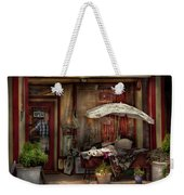 Storefront - Frenchtown Nj - The Boutique Weekender Tote Bag by Mike Savad