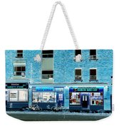 Stores On Ossington In Blue Weekender Tote Bag