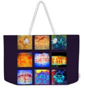 Stories On Stone Weekender Tote Bag