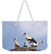 Storks In The Nest Weekender Tote Bag
