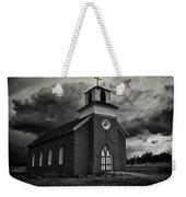 Storm At San Rafael Church Weekender Tote Bag