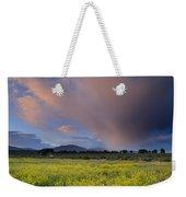 Storm At Sunset Weekender Tote Bag