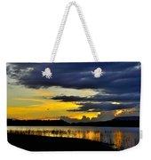 Storm At The Lake Weekender Tote Bag