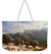 Storm Atop Oquirrhs Weekender Tote Bag by Chad Dutson
