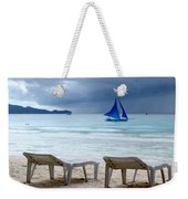 Stormy Beach - Boracay, Philippines Weekender Tote Bag