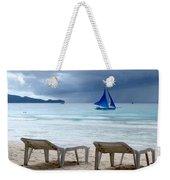 Stormy Beach - Boracay, Philippines Weekender Tote Bag