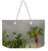 Storm Clouds And Flowers Weekender Tote Bag