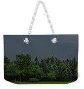 Storm Clouds And Trees Weekender Tote Bag