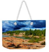 Storm Clouds Approaching Chikanashing Weekender Tote Bag