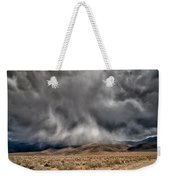 Storm Clouds Weekender Tote Bag by Cat Connor