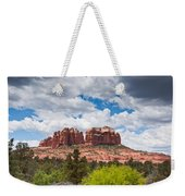 Storm Clouds Over Cathedral Rocks Weekender Tote Bag