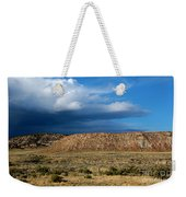 Storm Clouds Over Central Wyoming Weekender Tote Bag