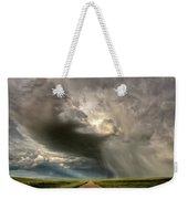 Storm Clouds Prairie Sky Saskatchewan Weekender Tote Bag