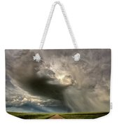 Storm Clouds Prairie Sky Saskatchewan Weekender Tote Bag