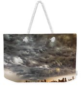 Storm Coulds Over Nyc Weekender Tote Bag