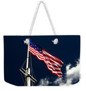Storm Flag At Fort Mchenry Weekender Tote Bag