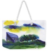 Storm In The Countryside Weekender Tote Bag
