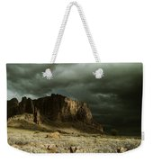 Storm In The Superstitions Weekender Tote Bag