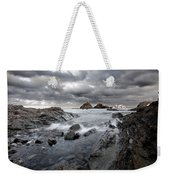 Storm Is Coming To Island Of Menorca From North Coast And Mediterranean Seems Ready To Show Power Weekender Tote Bag