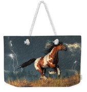 Storm Mustang Weekender Tote Bag